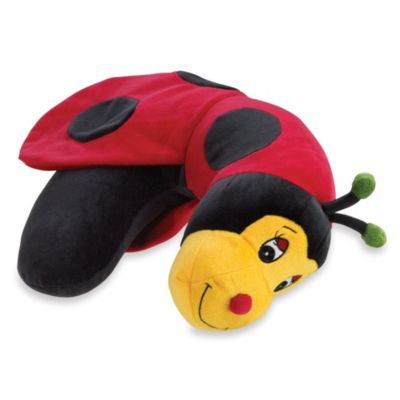 L.C. Industries Ladybug Neck Support Pillow