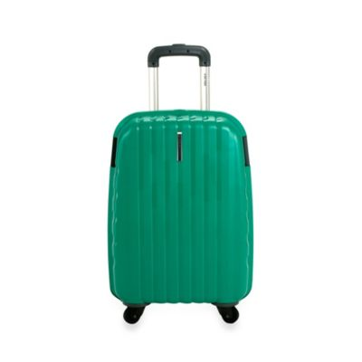 DELSEY Helium Colours 21-Inch Carry-On Spinner Hardside Luggage in Green