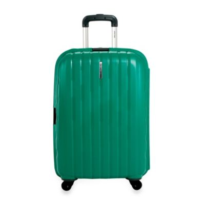 DELSEY Helium Colours 26-Inch Spinner Hardside Suitcase in Green