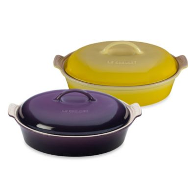 Le Creuset® 4-Quart Oval Covered Casserole in Soleil