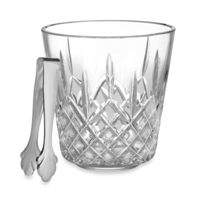 Lismore Ice Bucket with Tongs