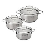 BergHOFF® Bistro Stainless Steel Covered Casseroles