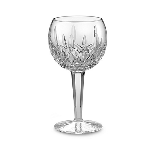 Waterford® Lismore Platinum 8-Ounce Balloon Wine Glass