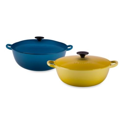Le Creuset® 7.5-Quart Covered Bouillabaisse Pot in Palm