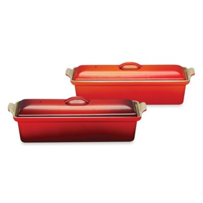 Le Creuset® 1.5-Quart Pate Terrine in Flame