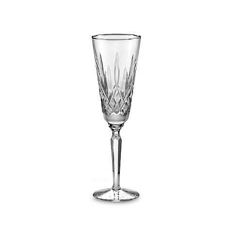Waterford® Lismore Platinum 4-Ounce Toasting Flute