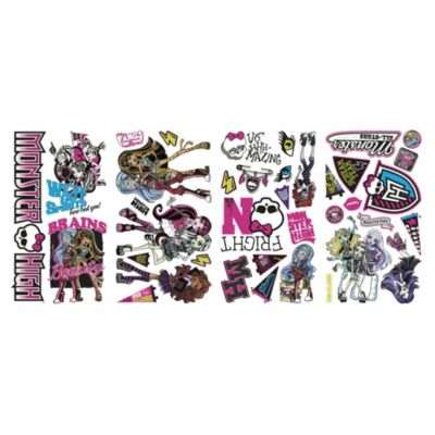 RoomMates® Monster High Peel and Stick Wall Decals