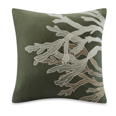 Harbor House™ Summer Beach Sea Plant Square Throw Pillow