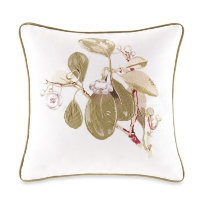 Harbor House™ Eternity Square Toss Pillow in Snow White