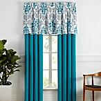 Carina Window Treatment in Turquoise