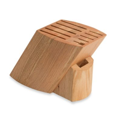 Ken Onion Rain 11-Slot Knife Block in American Red Oak