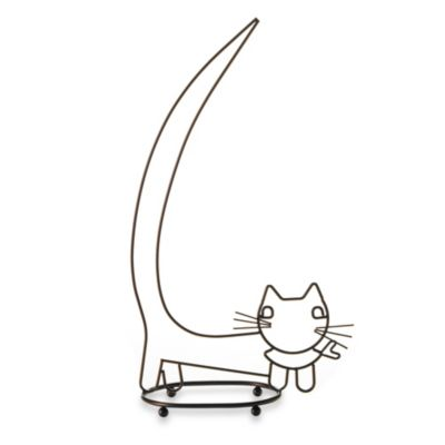 Taymor® Walking Cat Toilet Paper Holder in Oil-Rubbed Bronze
