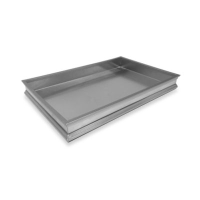 Brushed Nickel Vanity Tray