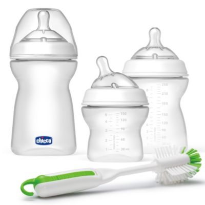 Bottle Feeding > Chicco® NaturalFit™ 3 Stage Feeding System Gift Set