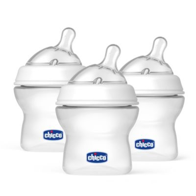 Chicco® NaturalFit™ Newborn 5-Ounce Bottles and Newborn Flow Nipples (3-Pack)