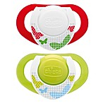Chicco® NaturalFit™ Deco Orthodontic Pacifier in Neutral (2-Pack)