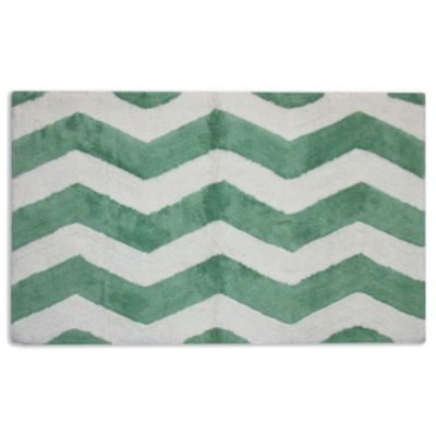 Connor Leaf Antique White Bath Rug