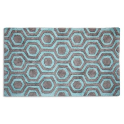Strand Sky/Pebble Bath Rug