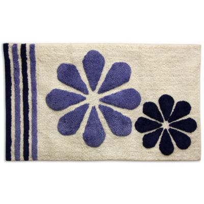 Navy Blue Bath Rugs
