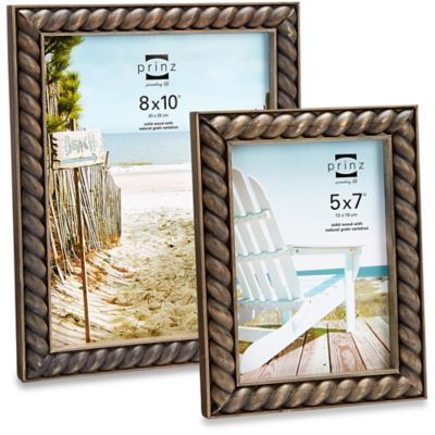 Prinz Cambria® Roped Wooden 5-Inch x 7-Inch Frame