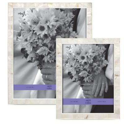 Metallic Wedding Photo Frames