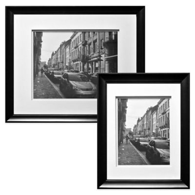 Wall Gallery 11-Inch x 14-Inch Picture Frame in Black