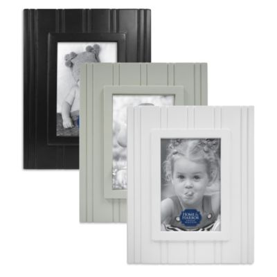 Wainscot 4-Inch x 6-Inch Picture Frame in White