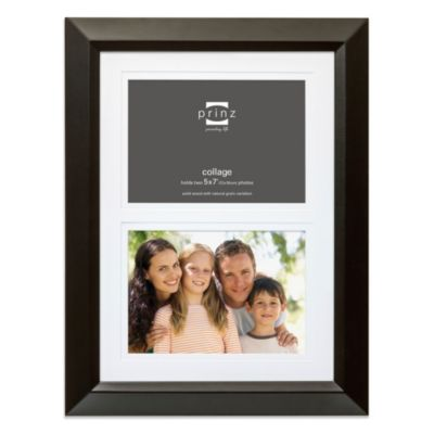 Prinz Hudson 5-Inch x 7-Inch 2-Opening Collage Frame in Black