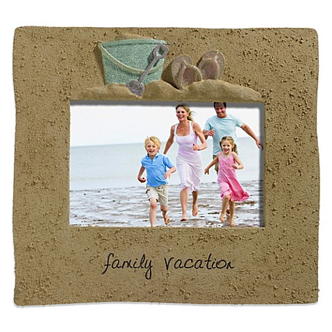 Grasslands Road™ Family Vacation Coastal Picture Frame