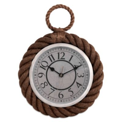 Nautical Rope Wall Clock