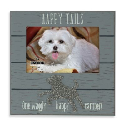 Malden® 4-Inch x 6-Inch Tails Picture Frame in Grey