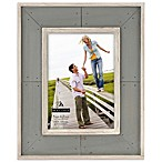 Malden® Coastal Collection 5-Inch x 7-Inch Weathered Picture Frame in Grey