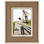Malden® Coastal Collection 5-Inch x 7-Inch Weathered Picture Frame in Brown