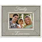 Malden® Coastal Collection 4-Inch x 6-Inch Family Picture Frame in Grey