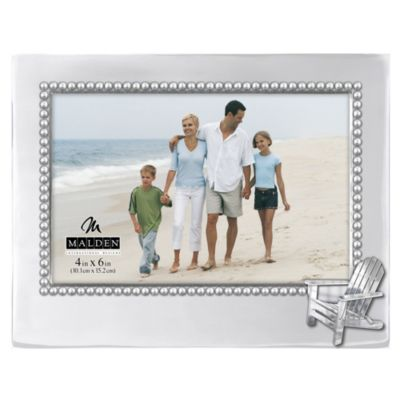 Malden® Coastal Collection 4-Inch x 6-Inch Beach Chair Metal Frame