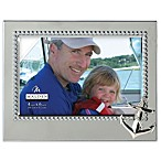 Malden® Coastal Collection 4-Inch x 6-Inch Anchor Metal Frame