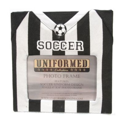 Soccer Jersey 4-Inch x 6-Inch Photo Frame