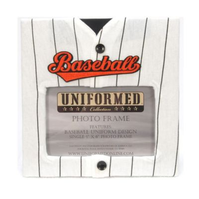 Baseball Jersey 4-Inch x 6-Inch Photo Frame