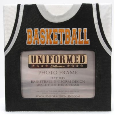 Basketball Jersey 4-Inch x 6-Inch Photo Frame