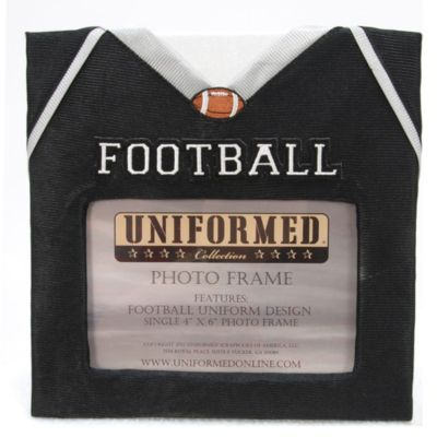Football Jersey 4-Inch x 6-Inch Photo Frame
