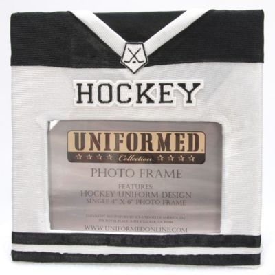 Hockey Jersey 4-Inch x 6-Inch Photo Frame