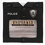 Police Uniform 4-Inch x 6-Inch Photo Frame
