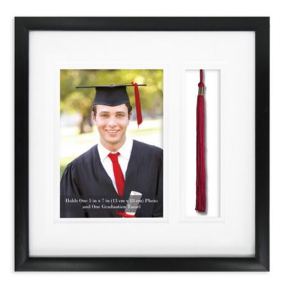 Graduation Photograph and Tassel 5-Inch x 7-Inch Frame