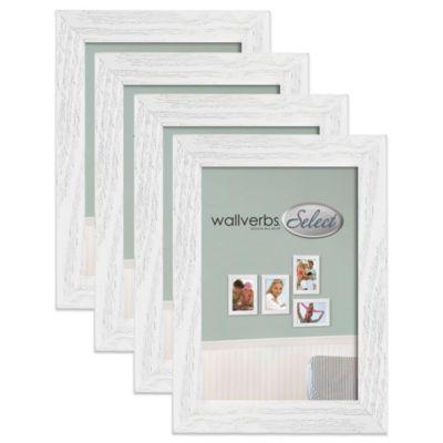 Wallverbs™ 4-Piece Coastal 4-Inch x 6-Inch Frame Add-On Set