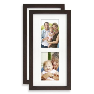 Wallverbs™ Artisan Tree Collection Add-On Picture Frames in Espresso (Set of 2)