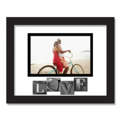 Love Sentiment Picture Frame in Black