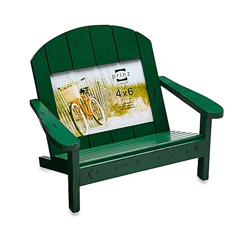 Buy prinz adirondack 4 inch x 6 inch bench frame in green from bed bath beyond - Adirondack bed frame ...