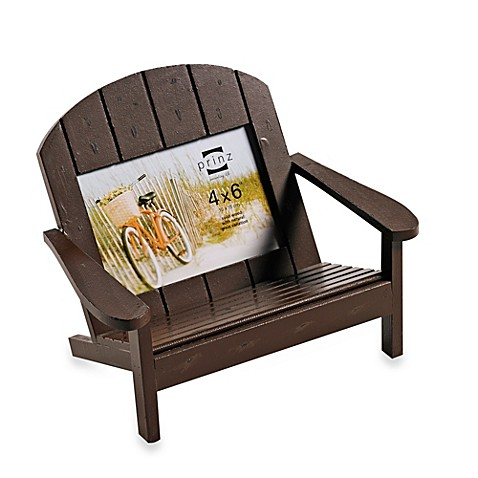 Buy prinz adirondack 4 inch x 6 inch bench frame in brown from bed bath beyond Adirondack bed frame