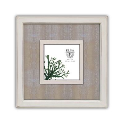 Elsa L Washed Wood Picture Frame in Antique White