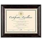 8.5-Inch x 11-Inch Elegant Document Frame in Genova Black